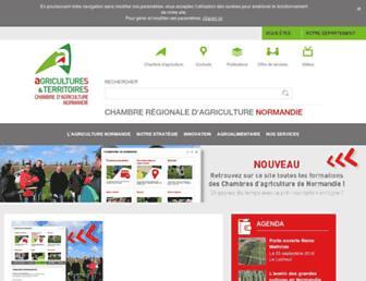 Thumbshot of Cra-normandie.fr