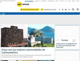 rpp.pe screenshot