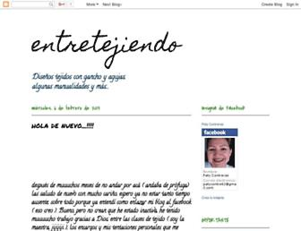 paty-entretejiendo.blogspot.com screenshot