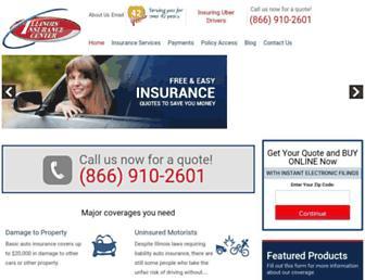 ilinsurancecenter.com screenshot