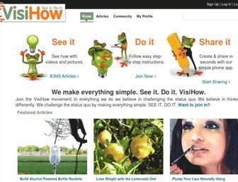 visihow.com screenshot