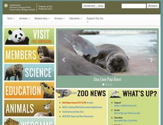 nationalzoo.si.edu screenshot