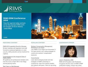 rims.org screenshot