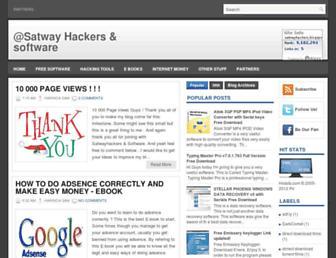 satwayhackers.blogspot.com screenshot