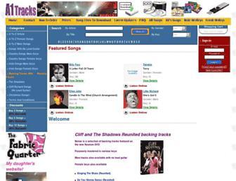a1tracks.com screenshot