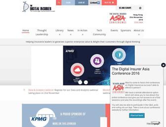 the-digital-insurer.com screenshot