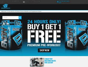 Screenshot for bodybuilding.com