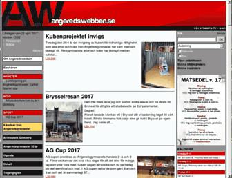 angeredswebben.se screenshot