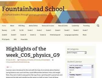 blog.fountainheadschools.org screenshot