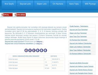 lotobayisi.com screenshot