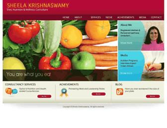 sheelakrishnaswamy.com screenshot