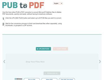 pubtopdf.com screenshot