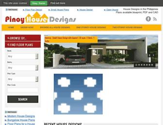 pinoyhousedesigns.com screenshot