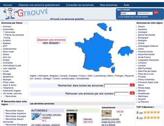 g-trouve.com screenshot