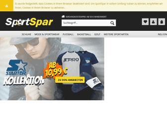 sportspar.de screenshot