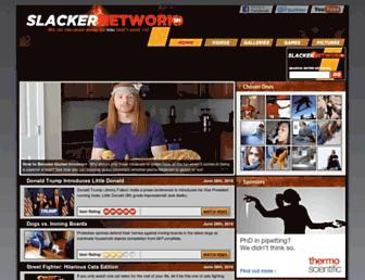 Thumbshot of Slackernetwork.com
