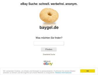 Thumbshot of Baygel.de