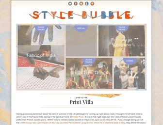 Thumbshot of Stylebubble.co.uk
