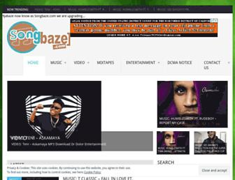 songbaze.com.ng screenshot