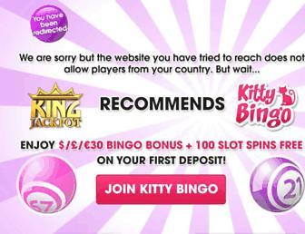 Thumbshot of Kingjackpot.co.uk