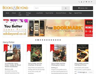 booksbeyond.co.id screenshot