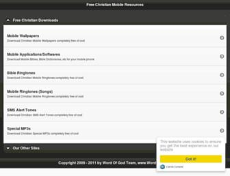 christiansmobile.com screenshot