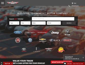 fremontmotors.com screenshot