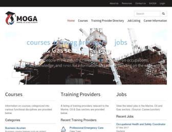 moga.saoga.org.za screenshot