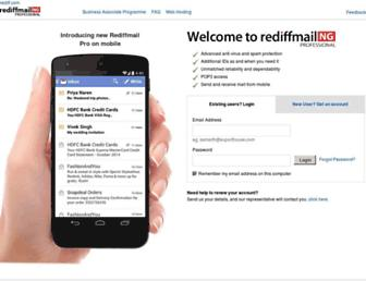 Thumbshot of Rediffmailpro.com