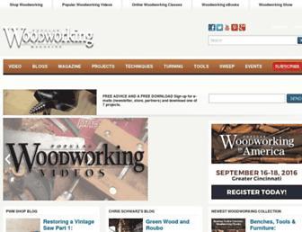 popularwoodworking.com screenshot