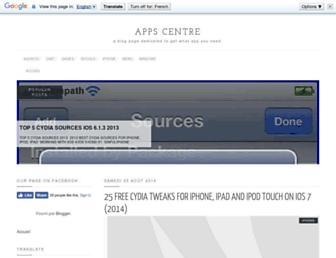 centreapp.blogspot.com screenshot