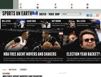 sportsonearth.com screenshot