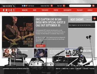 whereseric.com screenshot