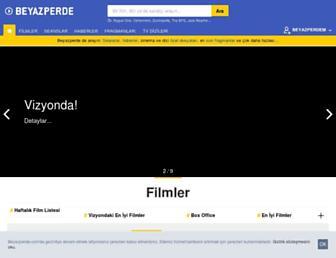 beyazperde.com screenshot