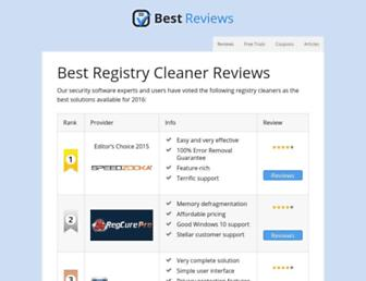 registry-cleaners.bestreviews.net screenshot