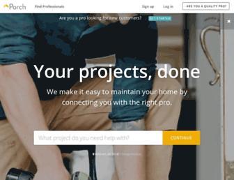 porch.com screenshot