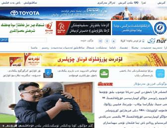 Main page screenshot of nur.cn