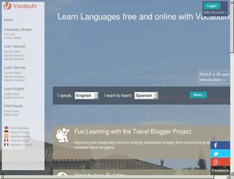 Thumbshot of Vocabulix.com