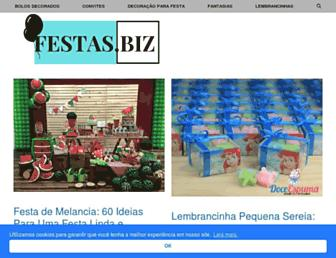 festas.biz screenshot