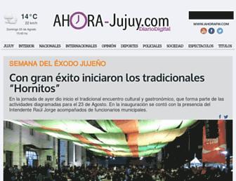 ahora-jujuy.com screenshot