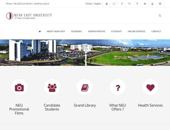 Thumbshot of Neu.edu.tr