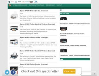 treiberdrucker.net screenshot