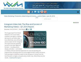 webvideomarketing.org screenshot