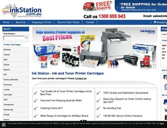 inkstation.com.au screenshot