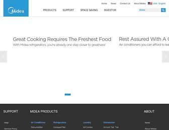 midea.com screenshot