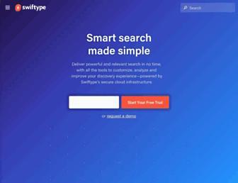 Thumbshot of Swiftype.com