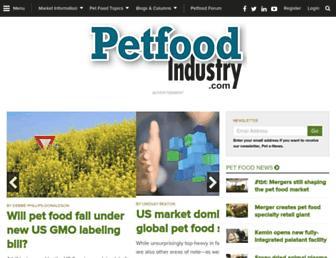 petfoodindustry.com screenshot