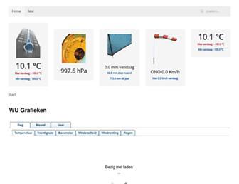 Thumbshot of Weerstationoverijse.be