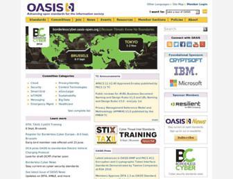 Thumbshot of Oasis-open.org