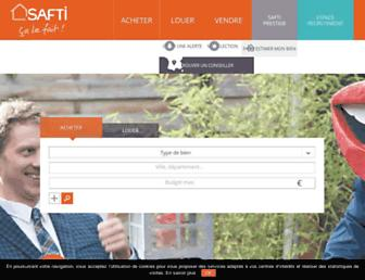 Thumbshot of Safti.fr